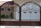 Applecross Wrought iron fencing 2